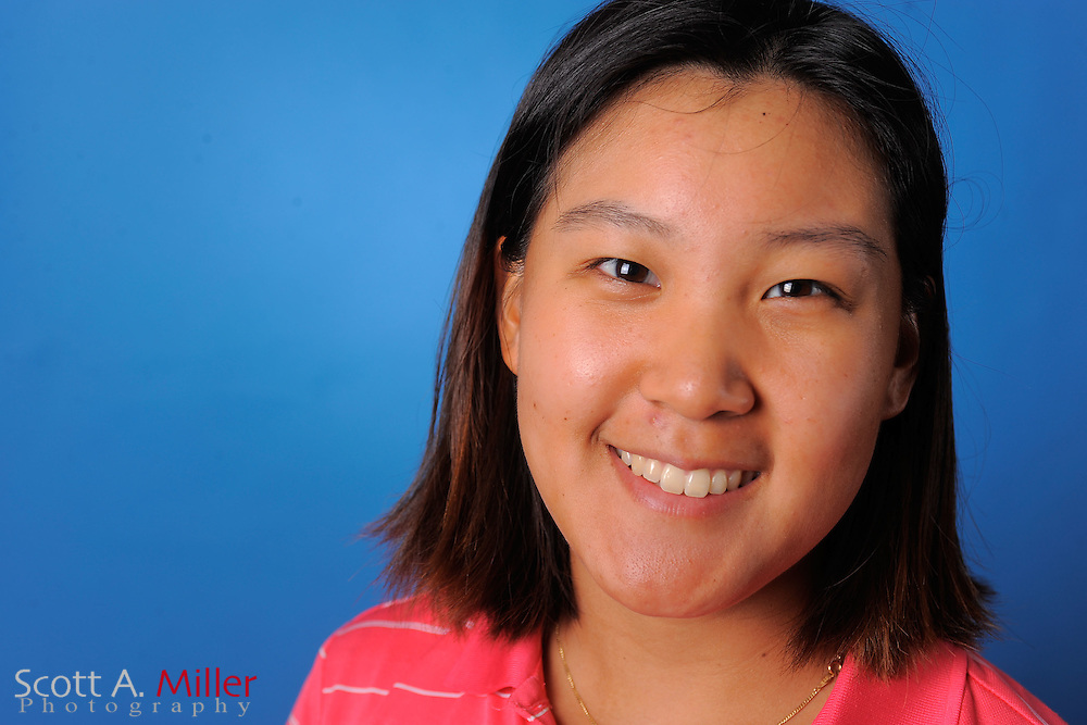Hannah Yun during a portrait session prior to the second stage of LPGA Qualifying School at the Plantation Golf and Country Club on Sept. 25, 2011 in Venice, FL...©2011 Scott A. Miller