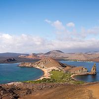 Scene on Bartolome Island in the Galapagos Islands of Ecuador.