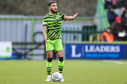 Forest Green Rovers Dominic Bernard(3) during the EFL Sky Bet League 2 match between Forest Green Rovers and Scunthorpe United at the New Lawn, Forest Green, United Kingdom on 7 December 2019.