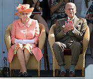 Queen Elizabeth & Prince Philip At Windsor Polo