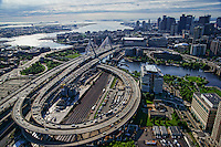 Boston - The Zakim Bunker Hill Memorial Bridge