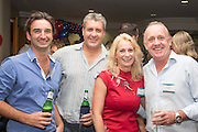 Michael Harbison, Phillip Wear,  Avril Baynes &  David Cvirn. RLB 40th Birthday, Hilton. Photo Shane Eecen Creative Light Studios