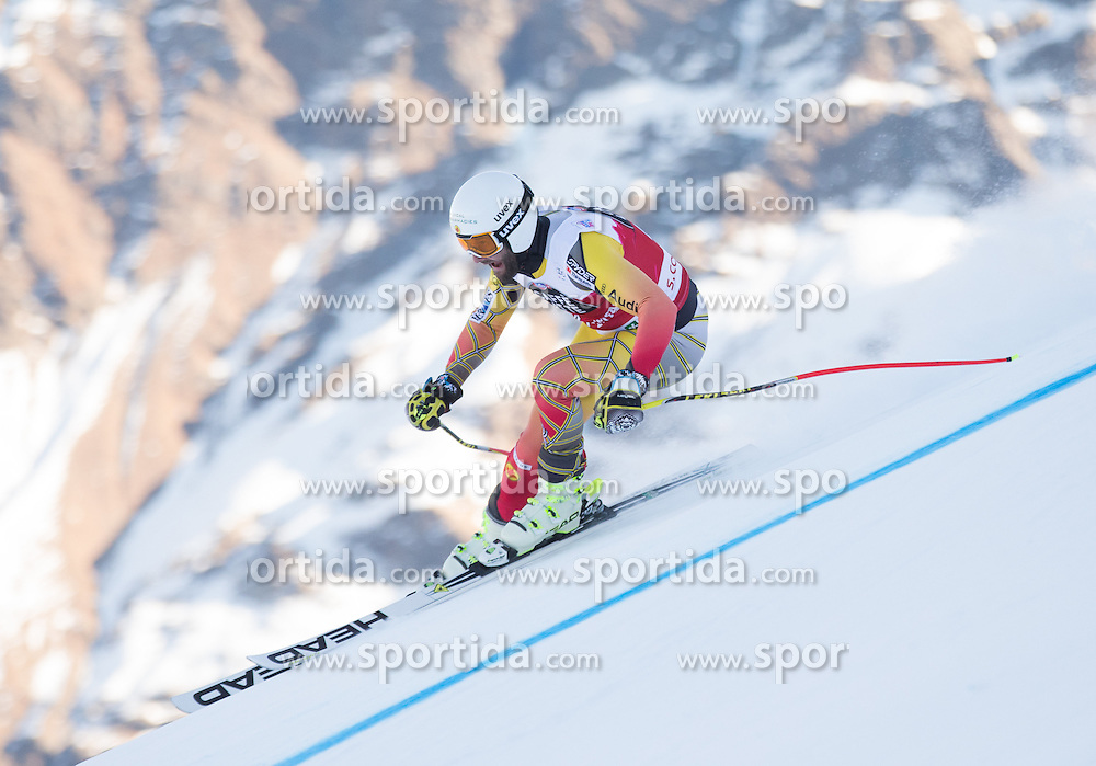 26.12.2015, Deborah Compagnoni Rennstrecke, Santa Caterina, ITA, FIS Ski Weltcup, Santa Caterina, Abfahrt, Herren, 1. Training, im Bild Jeffrey Frisch (CAN) // Jeffrey Frisch of Canada during the 1st practice run of men's Downhill of the Santa Caterina FIS Ski Alpine World Cup at the Deborah Compagnoni Course in Santa Caterina, Italy on 2015/12/26. EXPA Pictures © 2015, PhotoCredit: EXPA/ Johann Groder
