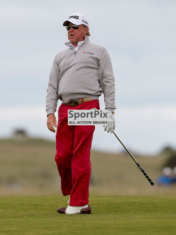Aberdeen Asset Management Scottish Open 2015<br /> <br /> Miguel Angel JIM&Eacute;NEZ during day 3 of the Aberdeen Asset Management Scottish Open played at Gullane Golf Course on 9-12 July 2015<br /> <br /> Picture: Alan Rennie