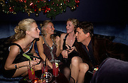 Poppy Delavigne, Martha Ward,  Chloe Delavigne and Marcus Langlands-Pierce, Tatler magazine Little Black Book party, Tramp. Jermyn St. 10 November 2004. ONE TIME USE ONLY - DO NOT ARCHIVE  © Copyright Photograph by Dafydd Jones 66 Stockwell Park Rd. London SW9 0DA Tel 020 7733 0108 www.dafjones.com