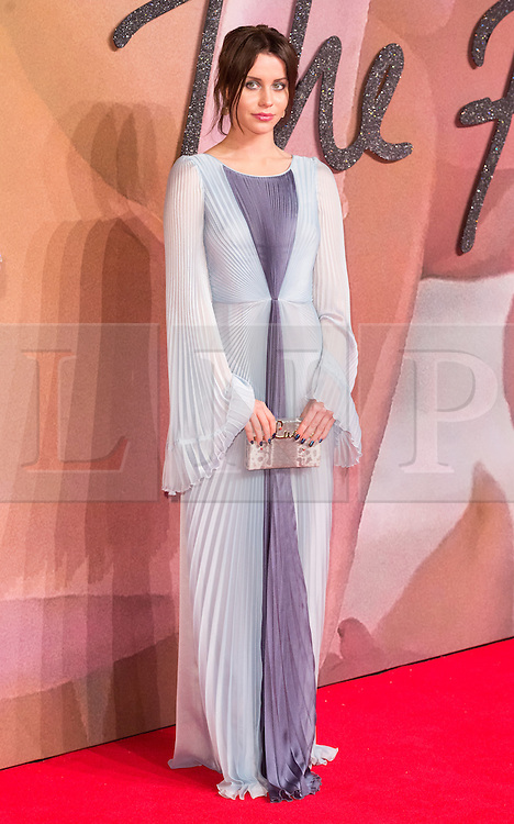© Licensed to London News Pictures. 05/12/2016. BILLIE JD PORTER arrives for The Fashion Awards 2016 celebrating the best of British and international fashion. London, UK. Photo credit: Ray Tang/LNP
