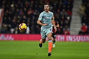 Chelsea Defender, Cesar Azpilicueta (28) during the Premier League match between Bournemouth and Chelsea at the Vitality Stadium, Bournemouth, England on 30 January 2019.