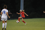 Ole Miss' Jennifer Miller (22) vs. Memphis in soccer action at the Ole Miss Soccer Stadium in Oxford, Miss. on Sunday, September 15, 2013. Ole Miss won 3-0.