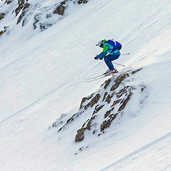 in action on the Flypaper at the Freeride World Tour Coe Cup in Glencoe (c) ROSS EAGLESHAM | Sportpix.co.uk