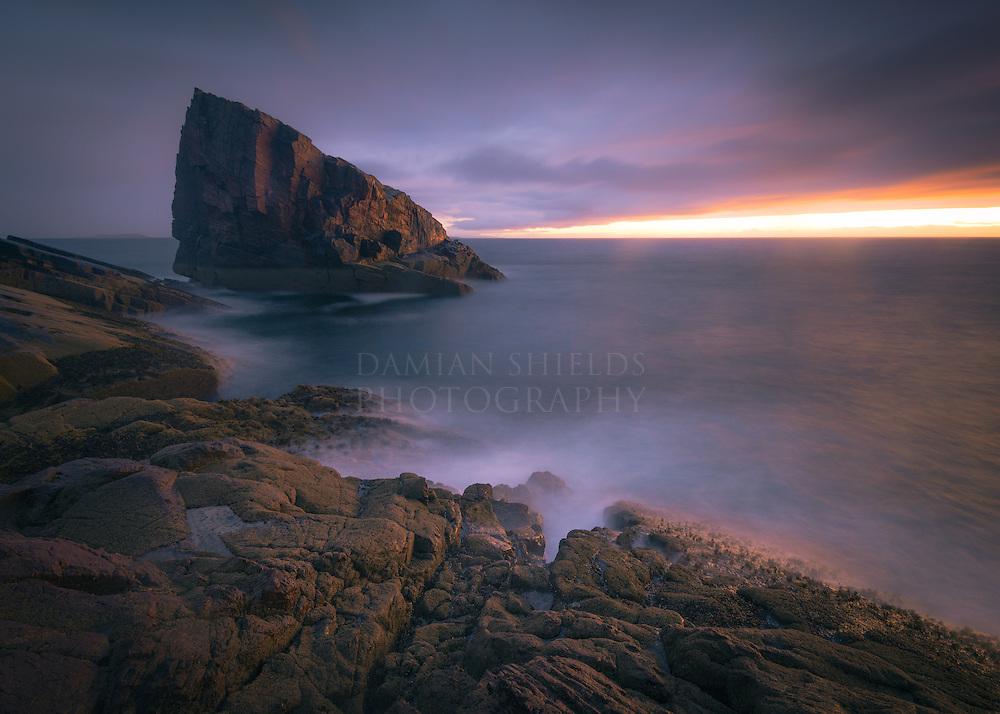 Split Rock, Clachtoll, Assynt