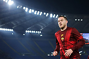 Jordan Veretout of Roma at the end of the warm up before the UEFA Europa League, Group J football match between AS Roma and Wolfsberg AC on December 12, 2019 at Stadio Olimpico in Rome, Italy - Photo Federico Proietti / ProSportsImages / DPPI