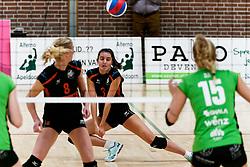 26-10-2019 NED: Dros Alterno - Set Up 65, Apeldoorn<br /> Round 4 of Eredivisie volleyball - Pien Vos #3 of Set Up