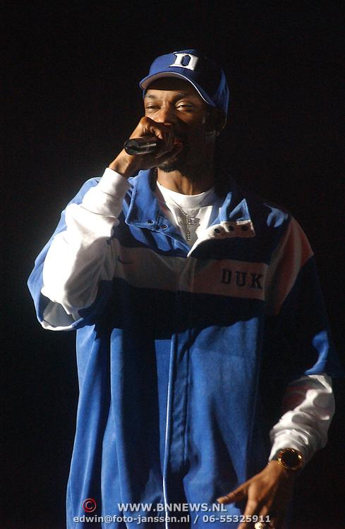 Concert Snoop Doggy Dog, Calvin Broadus