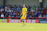 AFC Wimbledon defender Ryan Sweeney (20)  during the Pre-Season Friendly match between AFC Wimbledon and Reading at the Cherry Red Records Stadium, Kingston, England on 23 July 2016. Photo by Stuart Butcher.