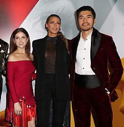 September 11, 2018 - New York City, New York, USA - 9/10/18.Anna Kendrick, Blake Lively and Henry Golding at the world premiere of ''A Simple Favor'' held at The Museum of Modern Art in New York City..(NYC) (Credit Image: © Starmax/Newscom via ZUMA Press)