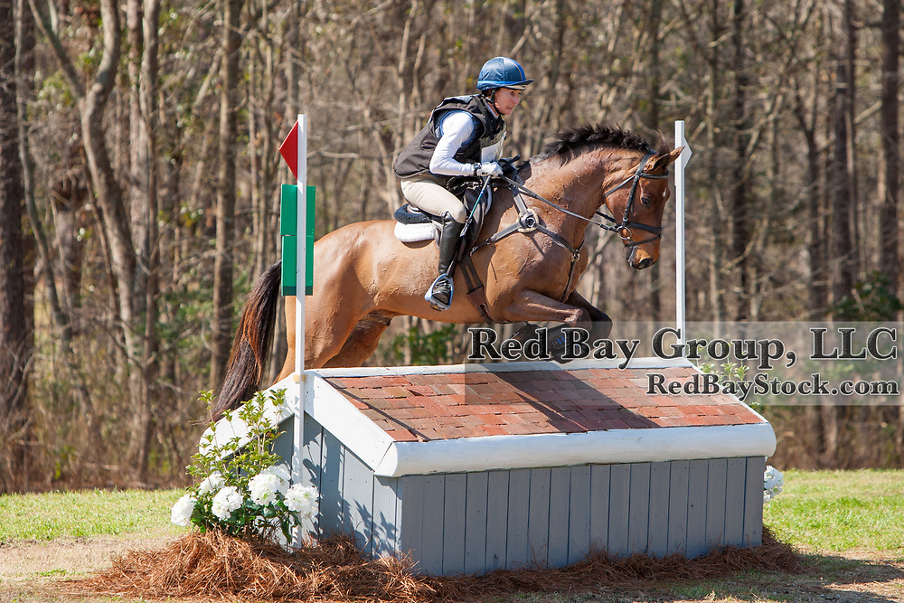 Kelli Temple (CAN) and Cascani at the Carolina International in Raeford, North Carolina.