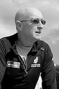 Henley on Thames. United Kingdom.  New Zealand, Men's Sweep lead coach, Australian, Noel DONALDSON. 2013 Henley Royal Regatta, Henley Reach.  Monday  01/07/2013  [Mandatory Credit Peter Spurrier/ Intersport Images]