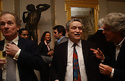 David Campbell, Norman Rosenthall and Michael Green. Everyman's Centenary Party. The Fine Rooms. Royal Academy. London. 15 February 2006. dddONE TIME USE ONLY - DO NOT ARCHIVE  © Copyright Photograph by Dafydd Jones 66 Stockwell Park Rd. London SW9 0DA Tel 020 7733 0108 www.dafjones.com