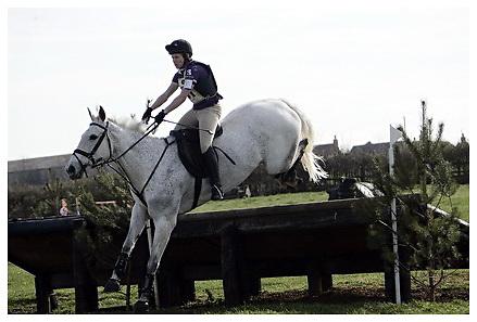 Buckingham Riding Club Eventer Trials at Milton Keynes Riding Club..5-4-2009.Mawsley Peace