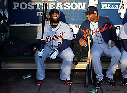 Prince Fielder and Delmon Young, 2012