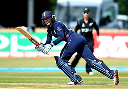 Lauren Winfield of England - Mandatory by-line: Robbie Stephenson/JMP - 12/07/2017 - CRICKET - The County Ground Derby - Derby, United Kingdom - England v New Zealand - ICC Women's World Cup match 21