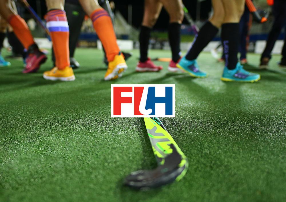 New Zealand, Auckland - 26/11/17  <br /> Sentinel Homes Women&rsquo;s Hockey World League Final<br /> Harbour Hockey Stadium<br /> Copyrigth: Worldsportpics, Rodrigo Jaramillo<br /> Match ID: 10322 - NED vs NZL<br /> Photo: