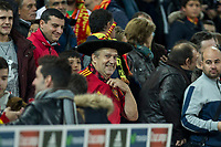 "Spain's supporter ""Manolo el del Bombo"" during the match of European qualifying round between Spain and Macedonia at Nuevo Los Carmenes Stadium in Granada, Spain. November 12, 2016. (ALTERPHOTOS/Rodrigo Jimenez)"