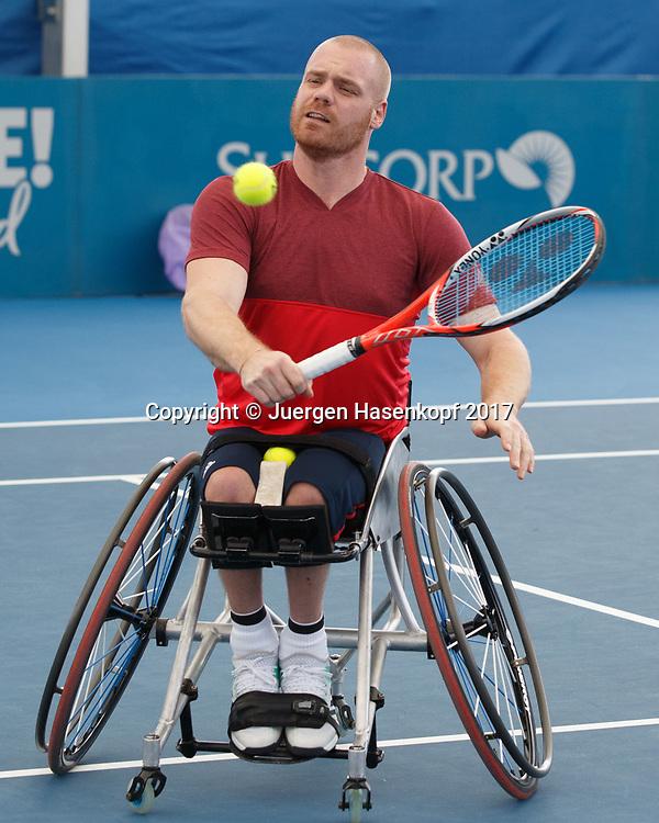 MAIKEL SCHEFFERS (NED), Rollstuhl Tennis<br /> <br /> Tennis - Brisbane International  2017 - ITF -  Pat Rafter Arena - Brisbane - QLD - Australia  - 7 January 2017. <br /> &copy; Juergen Hasenkopf