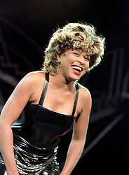 Tina Turner makes her last appearance in Sheffield at the Don Valley Stadium during her recent Twenty Four Seven tour. Tina has announced she is retiring from live music tours July 13, 2000