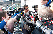 08/04/2013 XXjob Praveen Halappanavar  at Galway Coroner Court for the Inquest into the death of his wife Savita at Galway University Hospital. Picture:Andrew Downes..