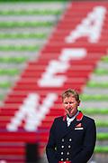 Winner Grand Prix Gareth Hughes - DV Stenkjers Nadonna<br /> Test Event WEG Normandie 2014<br /> © DigiShots