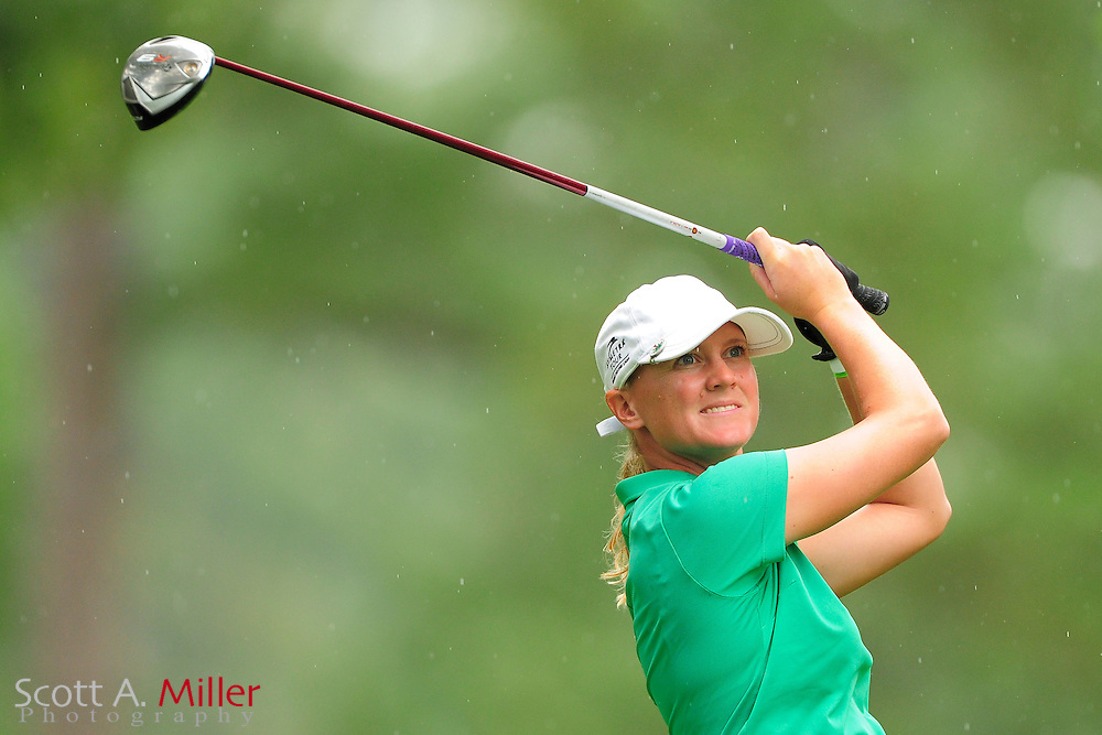 Abby Bools during the Symetra Tour's Eagle Classic at the Richmond Country Club on August 19, 2012 in Richmond, Va...©2012 Scott A. Miller.