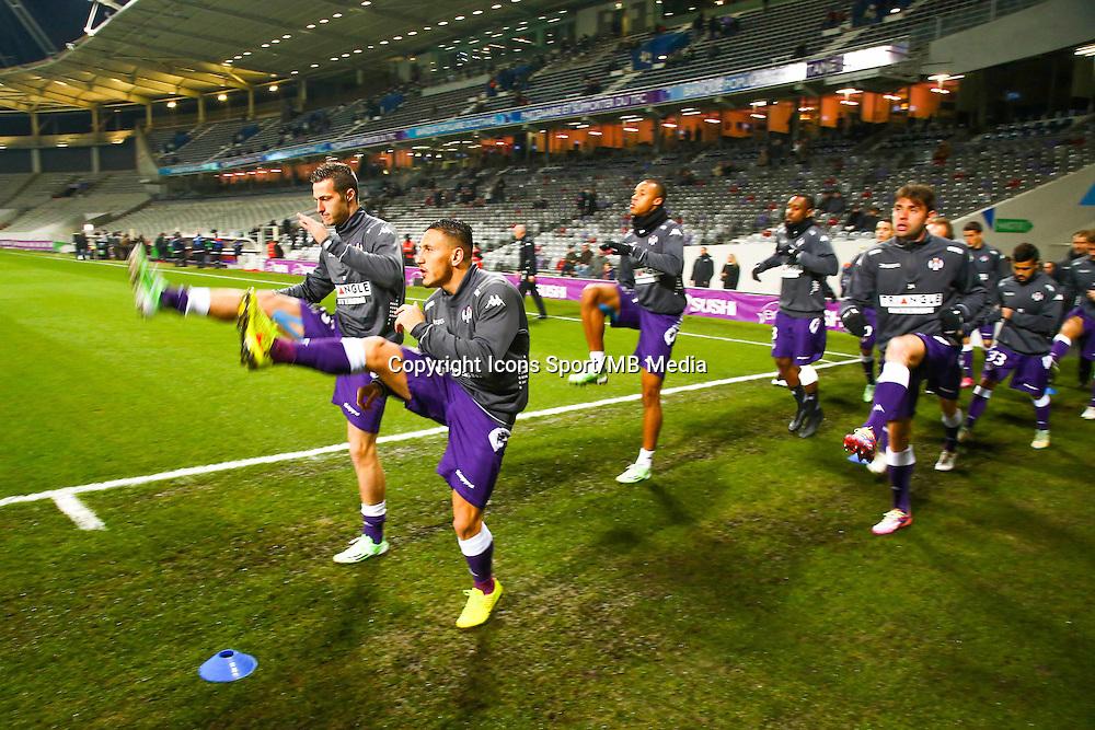 Adrien Regattin  - 17.01.2015 - Toulouse / Bastia - 21eme journee de Ligue 1<br /> Photo : Manuel Blondeau / Icon Sport