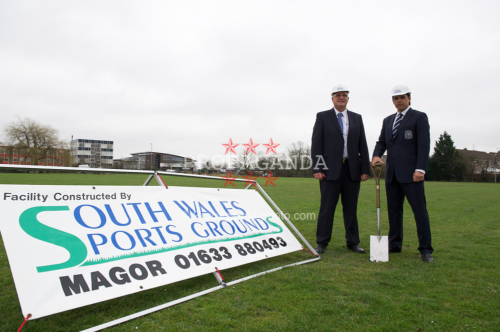 NEWPORT, WALES - Monday March 12, 2012: The Football Association of Wales at the new National Development Centre at the Newport International Sports Village. (Pic by David Rawcliffe/Propaganda)