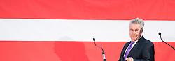 30.11.2016, Labstelle, Wien, AUT, Pressekonferenz mit Altpräsident Fischer und Griss, im Bild ehemaliger Bundespraesident von Österreich Heinz Fischer // ehemaliger Federal President of Austria Heinz Fischer during press conference due to the presidential elections in Austria in Vienna, Austria on 2016/11/30, EXPA Pictures © 2016, PhotoCredit: EXPA/ Michael Gruber
