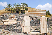 "Israel, Bet Shean (Scythopolis). In 64 BCE it was taken by the Romans, rebuilt, and made the capital of the Decapolis, the ""Ten Cities"" of Samaria that were centers of Greco-Roman culture. The Agora"