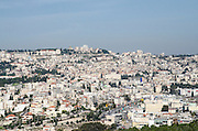 Israel, Lower Galilee, Mount Precipice overlooking Nazareth