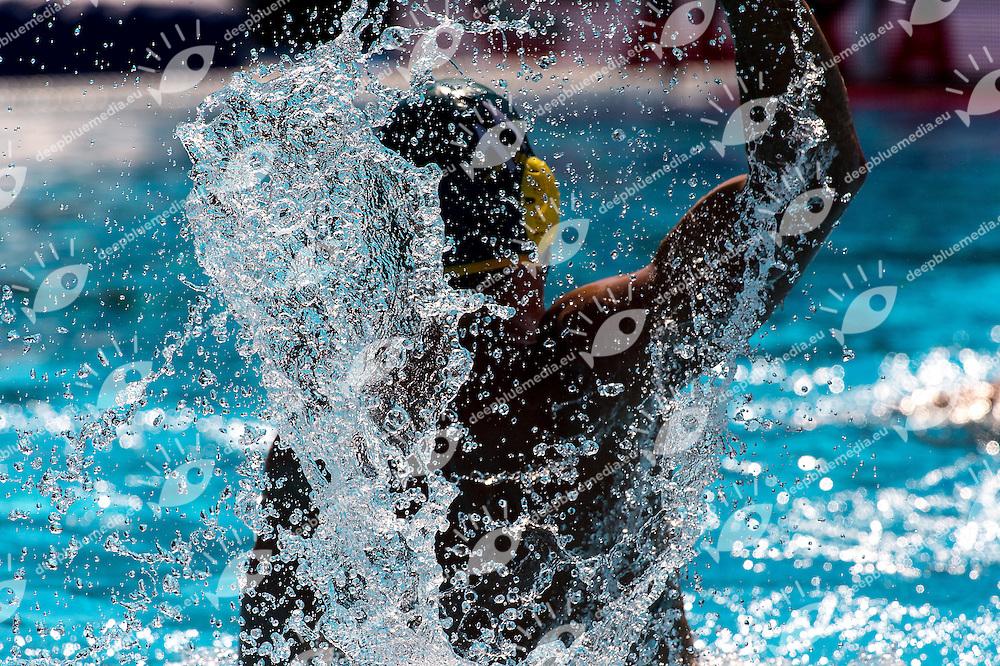 AUS<br /> Brazil BRA (white) - Australia AUS (green)<br /> day 04 - 26/06/2015<br /> FINA Water Polo World League Superfinal Men<br /> Bergamo (ITA) 23-28 June 2015<br /> Photo G.Scala/Deepbluemedia