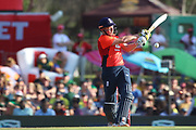 Jonny Bairstow bowled during the International T20 match between South Africa and England at Supersport Park, Centurion, South Africa on 16 February 2020.
