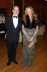 TRH PRINCE & PRINCESS MICHAEL OF KENT at a fundraising dinner in aid of the Hoedspruit Endangered Species Foundation in the presence of TRH Rrince & Princess Michael of Kent at Kensington Palace, London on 2nd March 2006.<br /><br />NON EXCLUSIVE - WORLD RIGHTS