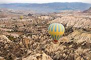 Hot-air balloons, Cappadocia, Turkey