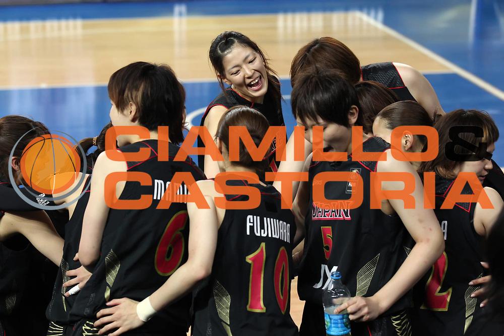 DESCRIZIONE : Ankara Turkey FIBA Olympic Qualifying Tournament for Women 2012 Canada Japan Canada Giappone<br /> GIOCATORE : <br /> SQUADRA : Giappone Japan<br /> EVENTO :  FIBA Olympic Qualifying Tournament for Women 2012<br /> GARA : Canada Japan Canada Giappone<br /> DATA : 01/07/2012<br /> CATEGORIA : <br /> SPORT : Pallacanestro <br /> AUTORE : Agenzia Ciamillo-Castoria/ElioCastoria<br /> Galleria : FIBA Olympic Qualifying Tournament for Women 2012<br /> Fotonotizia : Ankara Turkey FIBA Olympic Qualifying Tournament for Women 2012 Canada Japan Canada Giappone<br /> Predefinita :
