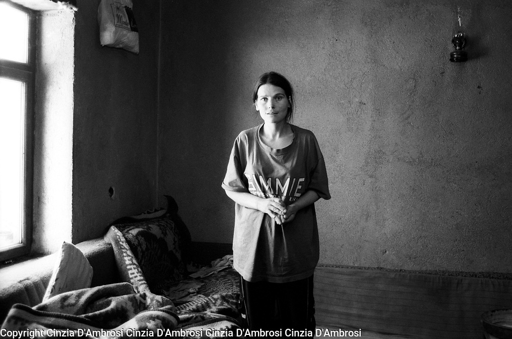 Widows of war in Kosovo.  After the war, some of villages like Meje have no men left.  Many widows have no means of sustainment.  Ngos assisted the widows in rebuilding their homes.  However, the Ngos support has diminuished to null after they have been moved to  Iraq and Afghanistan.  This decision has left the widows in unfinished homes and no one to turn to for any support.