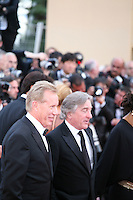 James Woods, Robert De Niro, at the gala screening Madagascar 3: Europe's Most Wanted at the 65th Cannes Film Festival. On Friday 18th May 2012 in Cannes Film Festival, France.