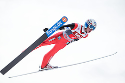 04.01.2015, Bergisel Schanze, Innsbruck, AUT, FIS Ski Sprung Weltcup, 63. Vierschanzentournee, Innsbruck, 1. Wertungssprung, im Bild Anders Fannemel (NOR) // Anders Fannemel of Norway soars trought the air during his first competition jump for the 63rd Four Hills Tournament of FIS Ski Jumping World Cup at the Bergisel Schanze in Innsbruck, Austria on 2015/01/04. EXPA Pictures © 2015, PhotoCredit: EXPA/ JFK