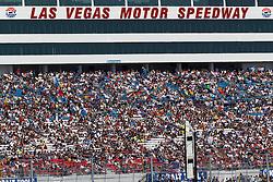 Mar 11, 2012; Las Vegas, NV, USA;  General view of Sprint Cup Series fans during the Kobalt Tools 400 at Las Vegas Motor Speedway. Mandatory Credit: Jason O. Watson-US PRESSWIRE