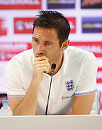Frank Lampard of England during the England press conference at Est&aacute;dio Claudio Coutinho, Rio de Janeiro<br /> Picture by Andrew Tobin/Focus Images Ltd +44 7710 761829<br /> 17/06/2014