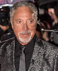 Tom Jones at The Voice UK, red carpet, Manchester<br /> <br /> (c) John Baguley | Edinburgh Elite media