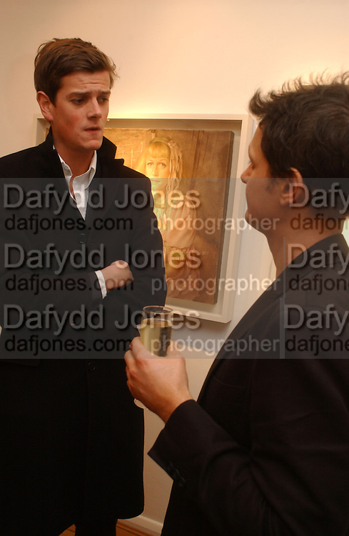 LORD ALEXANDER SPENCER CHURCHILL AND JONATHAN YEO Jonathan Yeo exhibition Private view. Eleven. London. 16 February 2006. ONE TIME USE ONLY - DO NOT ARCHIVE  © Copyright Photograph by Dafydd Jones 66 Stockwell Park Rd. London SW9 0DA Tel 020 7733 0108 www.dafjones.com