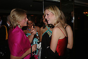 Georgina le Hardin and  Ella Newhouse. White Knights Ball, Grosvenor House Hotel 7 January 2005. ONE TIME USE ONLY - DO NOT ARCHIVE  © Copyright Photograph by Dafydd Jones 66 Stockwell Park Rd. London SW9 0DA Tel 020 7733 0108 www.dafjones.com